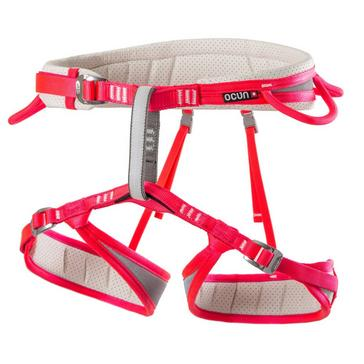 RED Ocun Neon Lady Climbing Harness