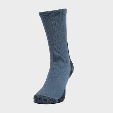 Blue Thorlo Women's Hiker Crew Socks