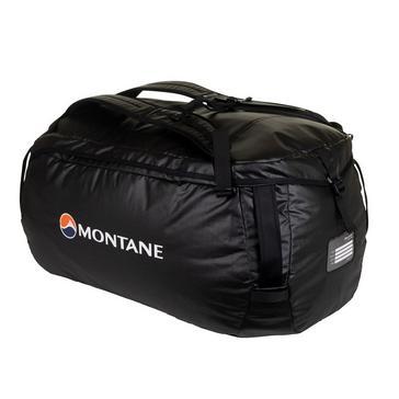 BLACK Montane Transition 60 Duffle Bag
