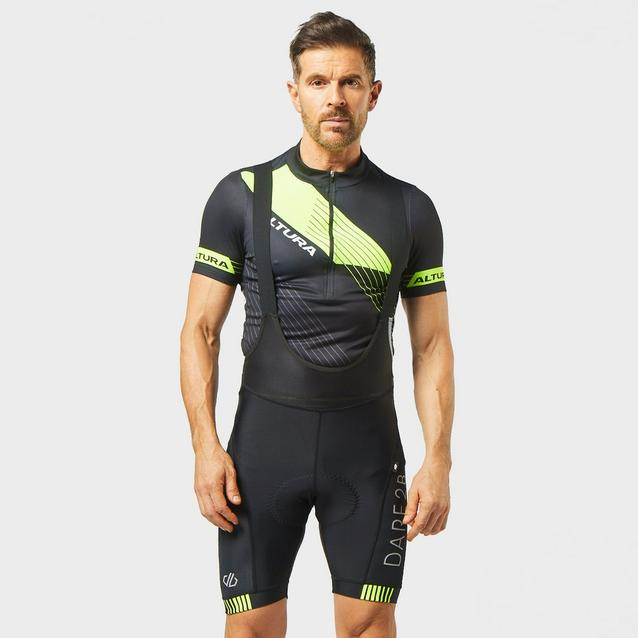 Dare 2b Herren Aep Artistry Lightweight Quick Drying Breathable Reflective Bibbed Cycling Short