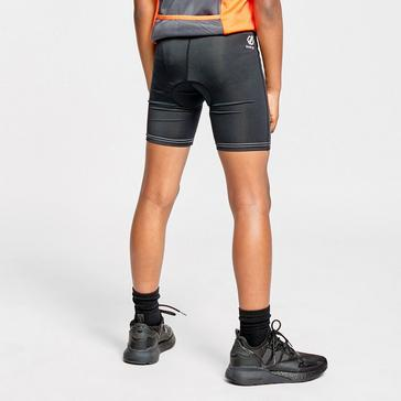 BLACK Dare 2B Kids' Gradual Cycling Shorts