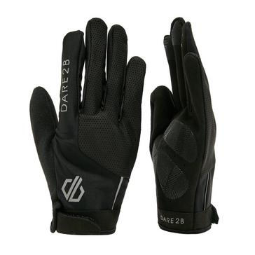 BLACK Dare 2B Men's Forcible Cycle Glove