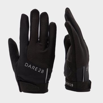 BLACK Dare 2B Women's Forcible Cycle Glove