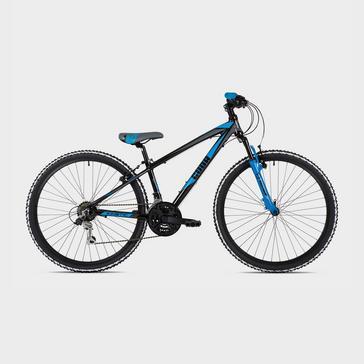"BLACK BLUE Cuda Kinetic 26"" Kids' Mountain Bike"