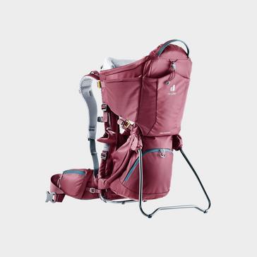 DARK PURPLE Deuter Kid Comfort Child Carrier Rucksack