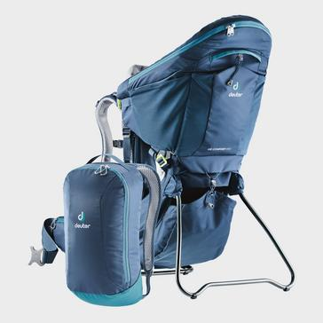 blue Deuter Kid Comfort Pro Child Carrier