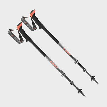 black Leki Carbon TA XTG Trekking Poles (Pair)