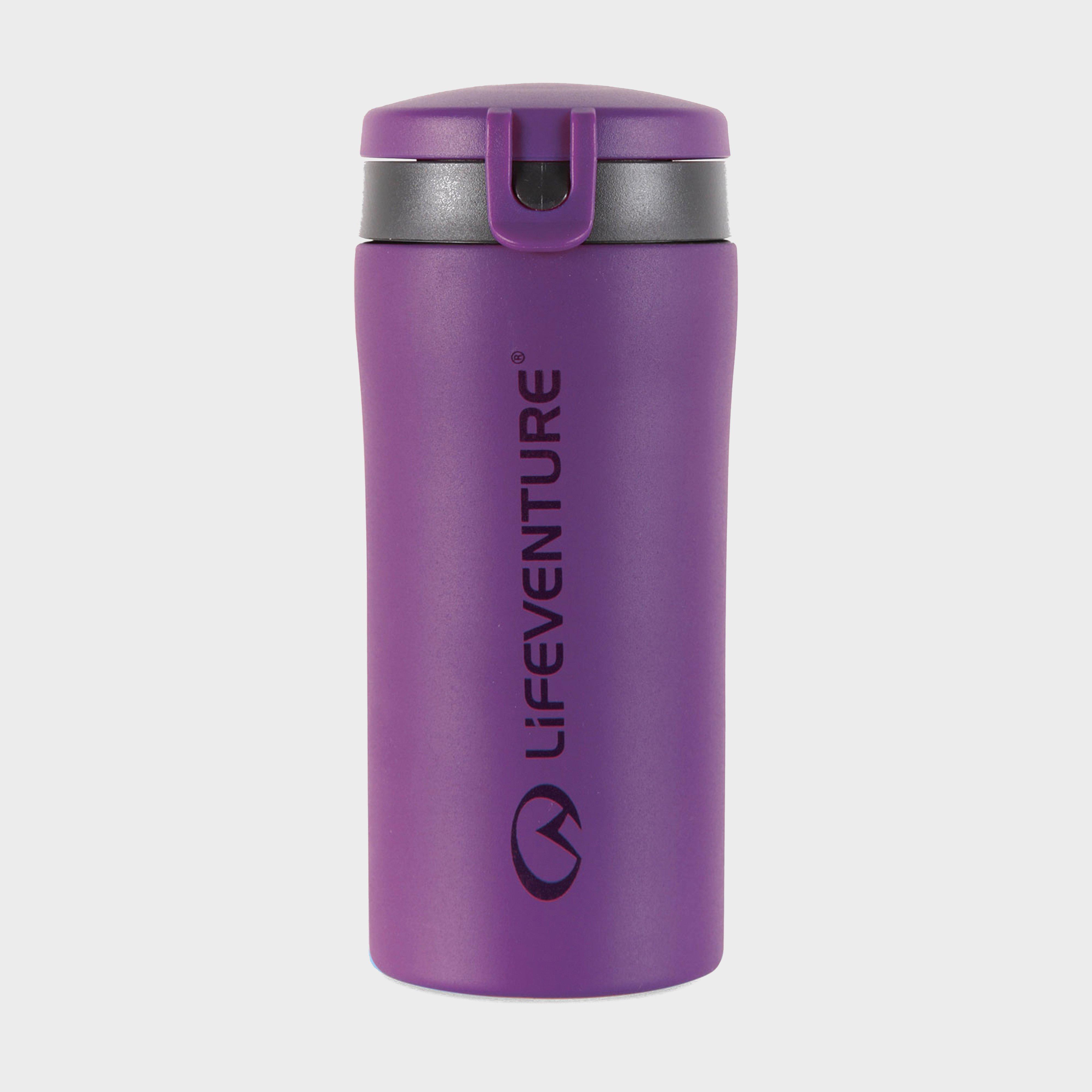Image of Lifeventure Flip-Top Thermal Mug - Purple/300M, Purple/300M