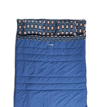 BLUE Outwell Snooze Double Sleeping Bag