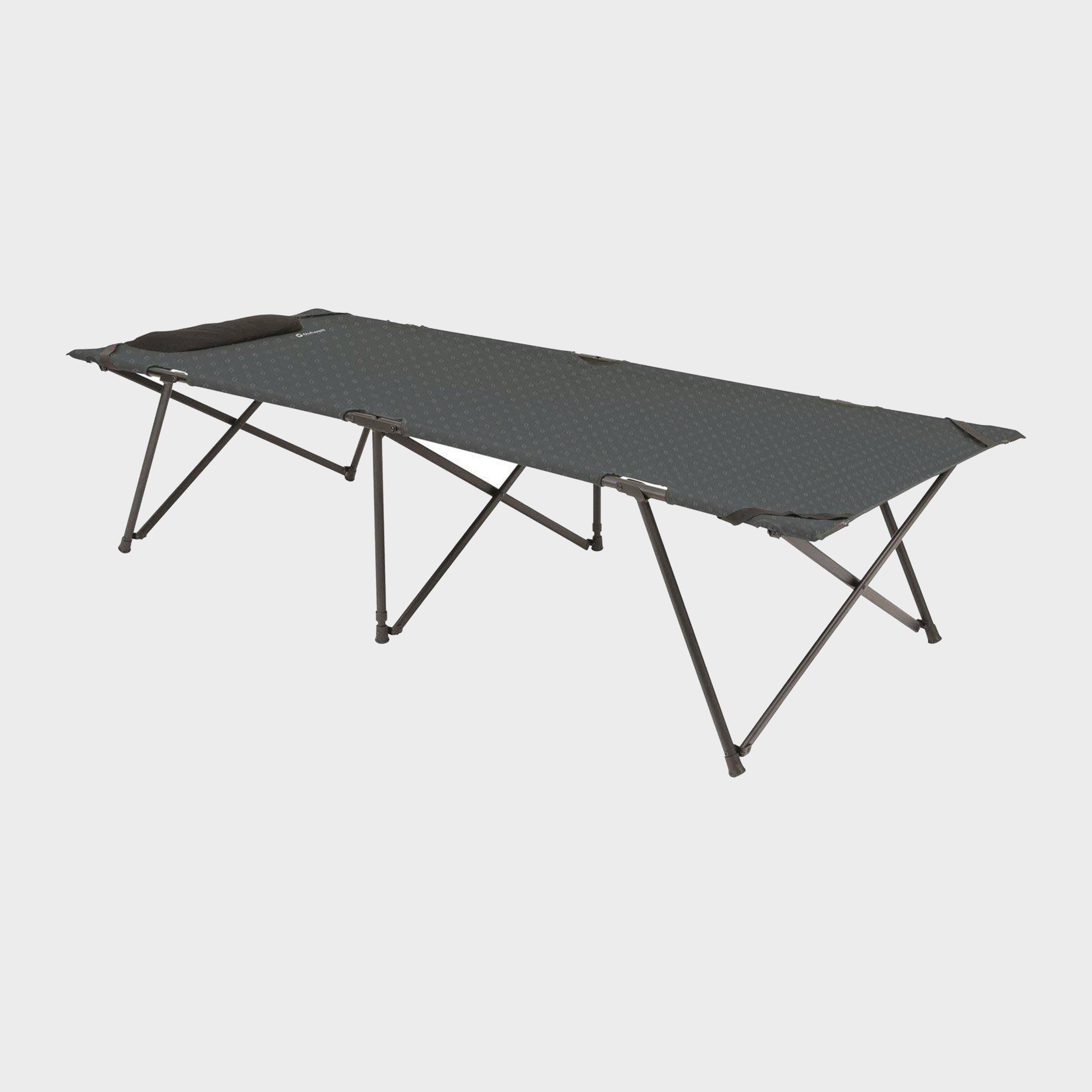 Outwell Outwell Posadas XL Foldaway Single Bed - Grey, Grey