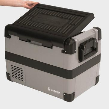 Grey|Grey Outwell Deep Cool 50L Coolbox with Compressor