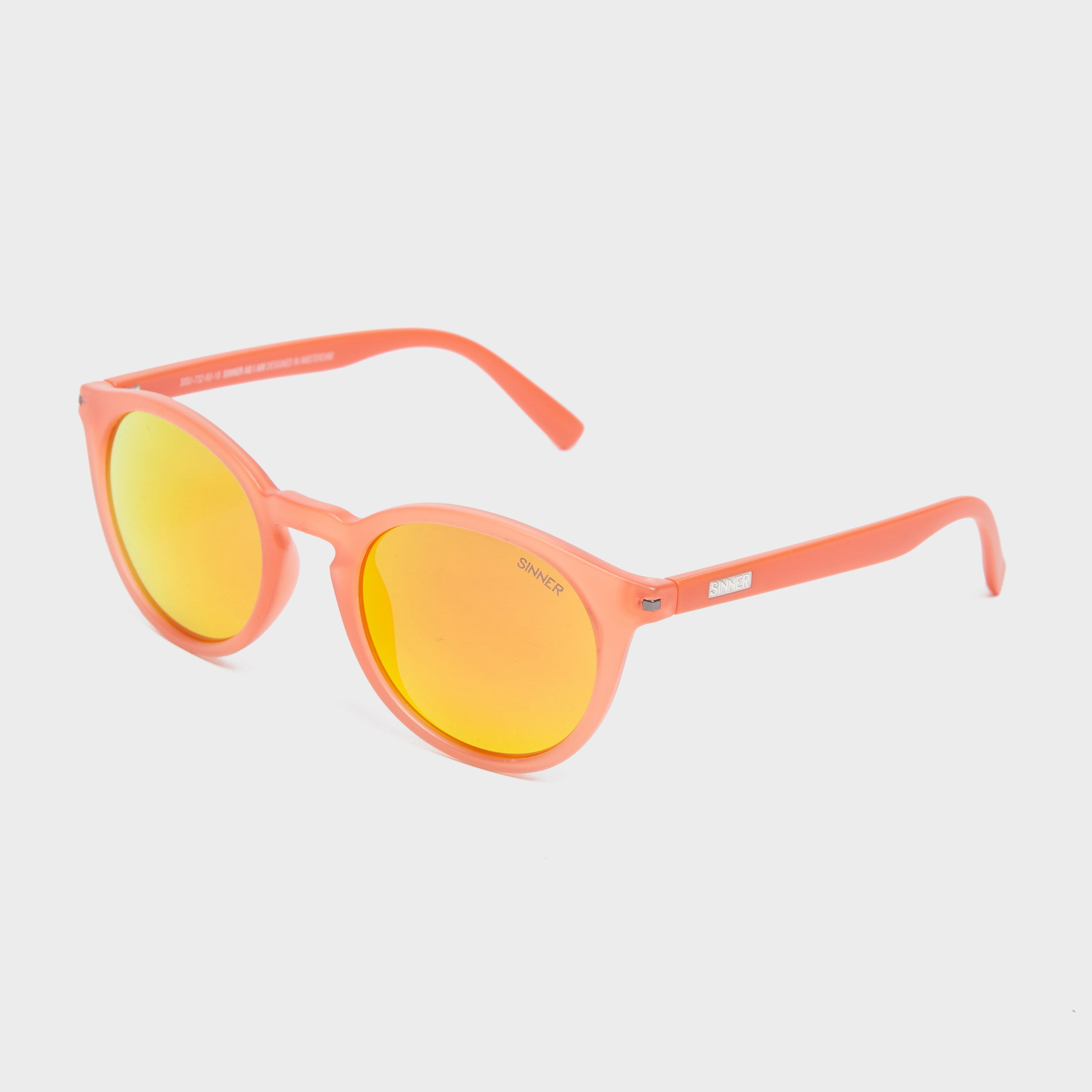 Sinner Sinner Perfect for preventing glare in bright conditions on the mountain, in water and even in deserts, these category 3 shades deliver total protection and give you crisp and clear vision so you can make the most of your day outdoors. - Orange, Orange