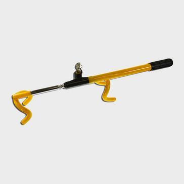 Yellow Maypole Steering Wheel Lock Double Hook