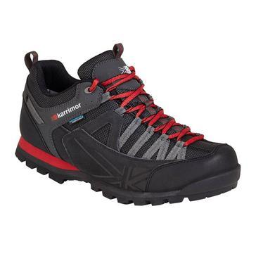 BLACK RED Karrimor Men's Spike Low 3 Hiking Shoes
