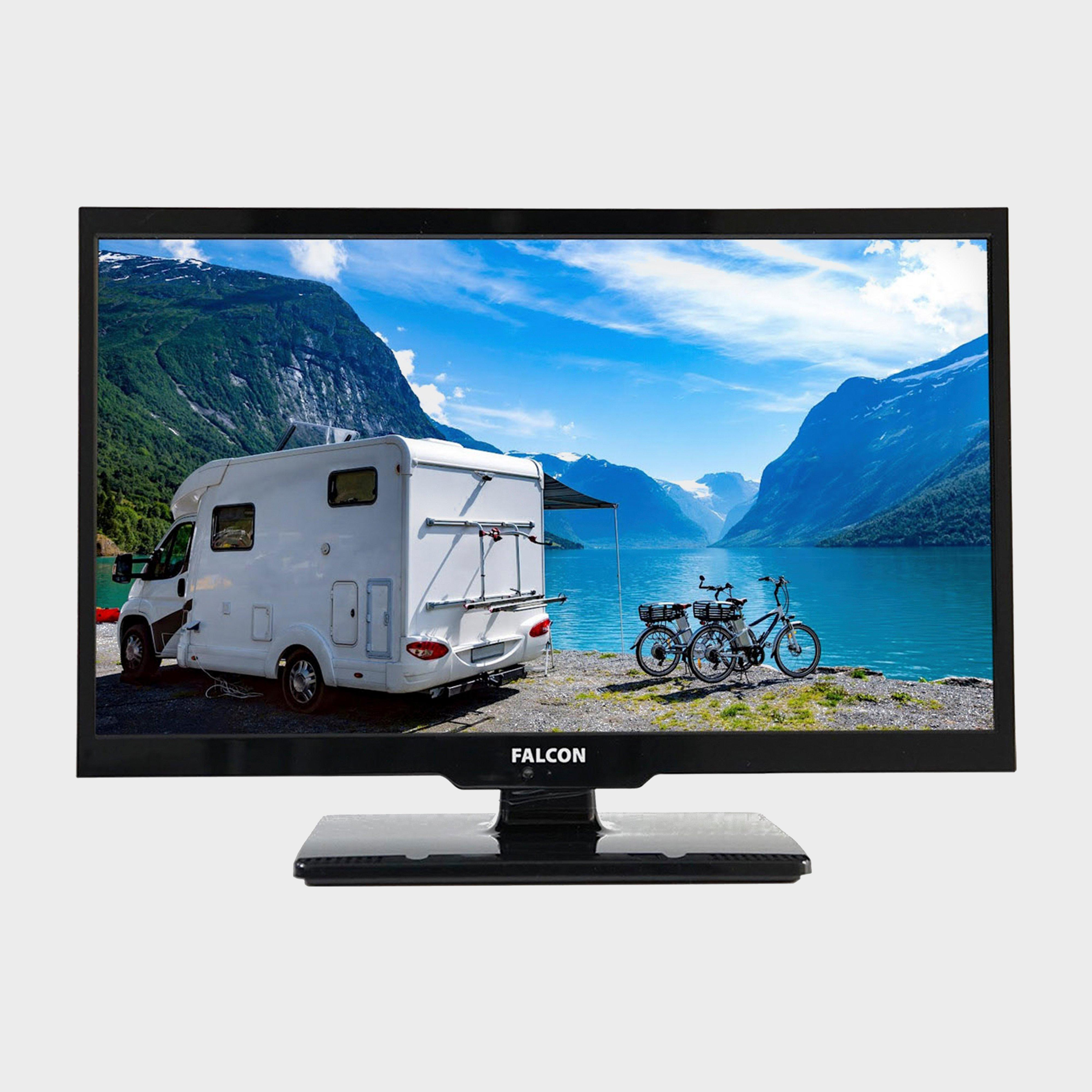 "Falcon Falcon 22"" HD Travel TV with DVD, Freeview, Freesat, USB,"