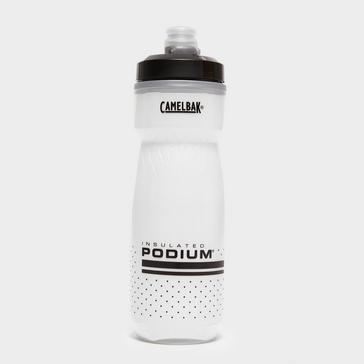 WHITE Camelbak Podium Chill Water Bottle (620ml)