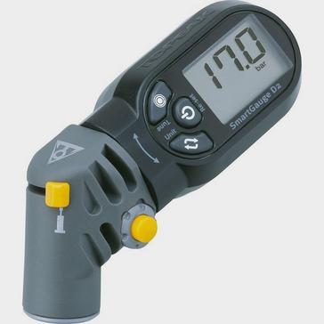Black Topeak Smartgauge D2 Digital Pressure Gauge