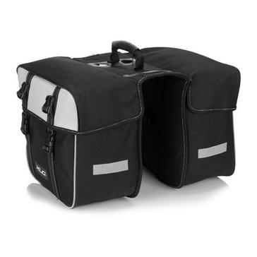 Black XLC Components Travel Double Pannier 30L
