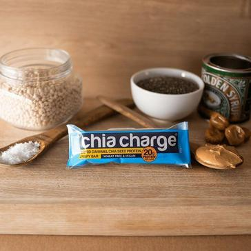 Blue Chia Charge Salted Caramel Chia Seed Protein Crispy Bar 60g