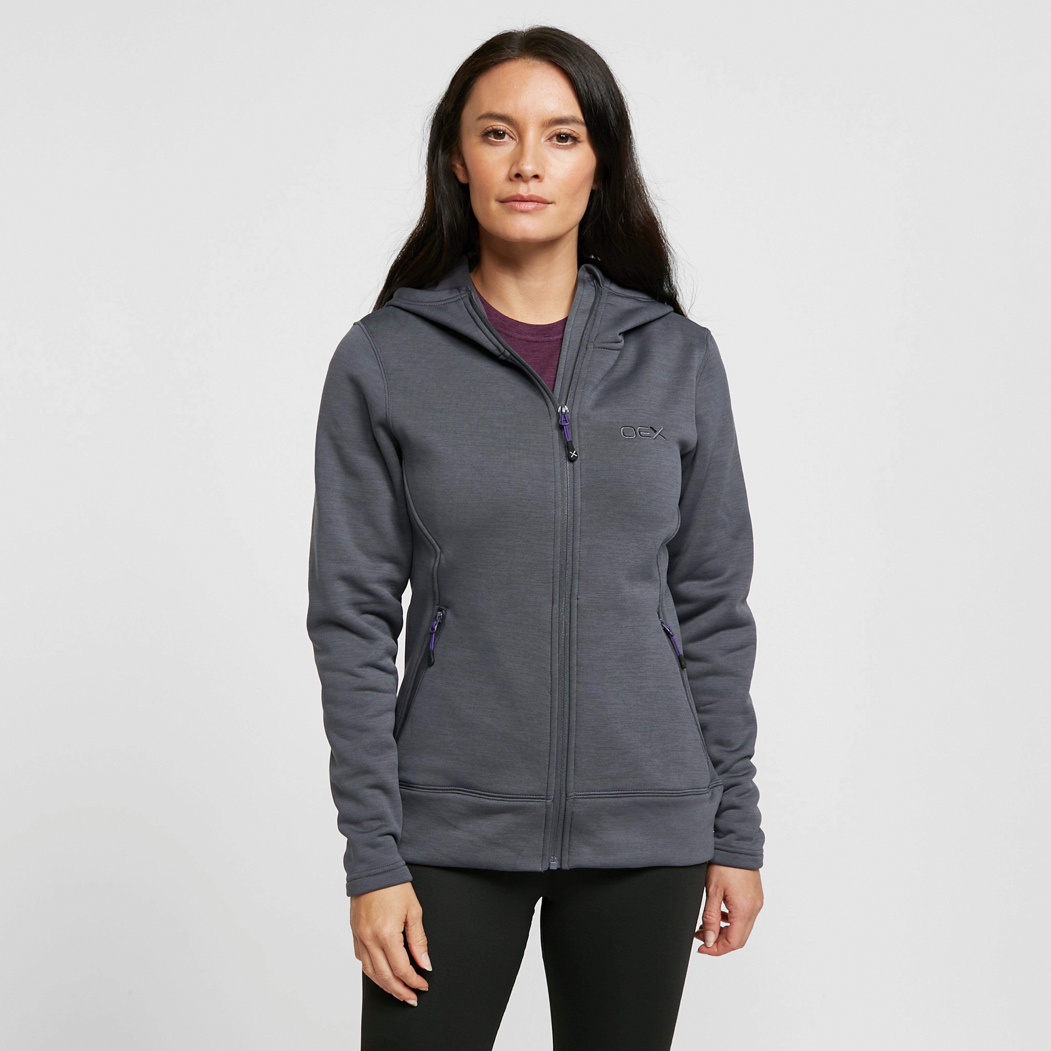 Oex Oex Womens Dyno Hoody - Grey, Grey