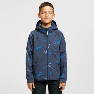Kids' Geo Dino Softshell Jacket