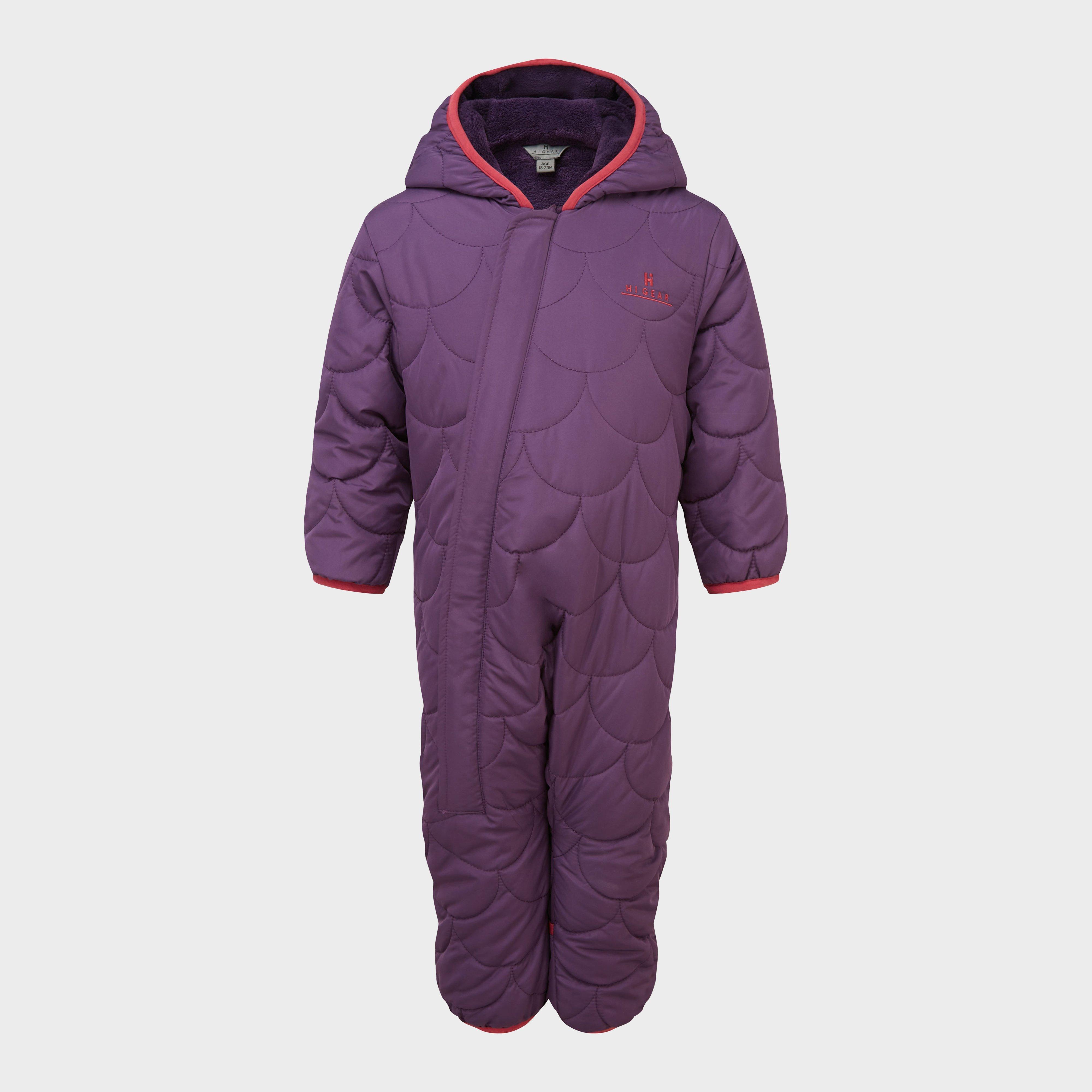 Hi-Gear Hi-Gear Crescent Snuggle Suit, Purple