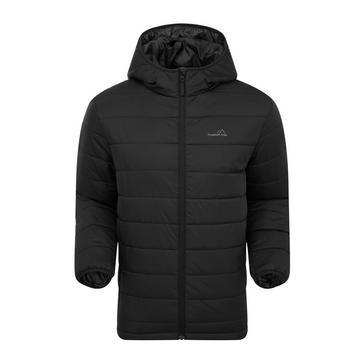 BLACK FREEDOMTRAIL Men's Blisco Insulated Jacket