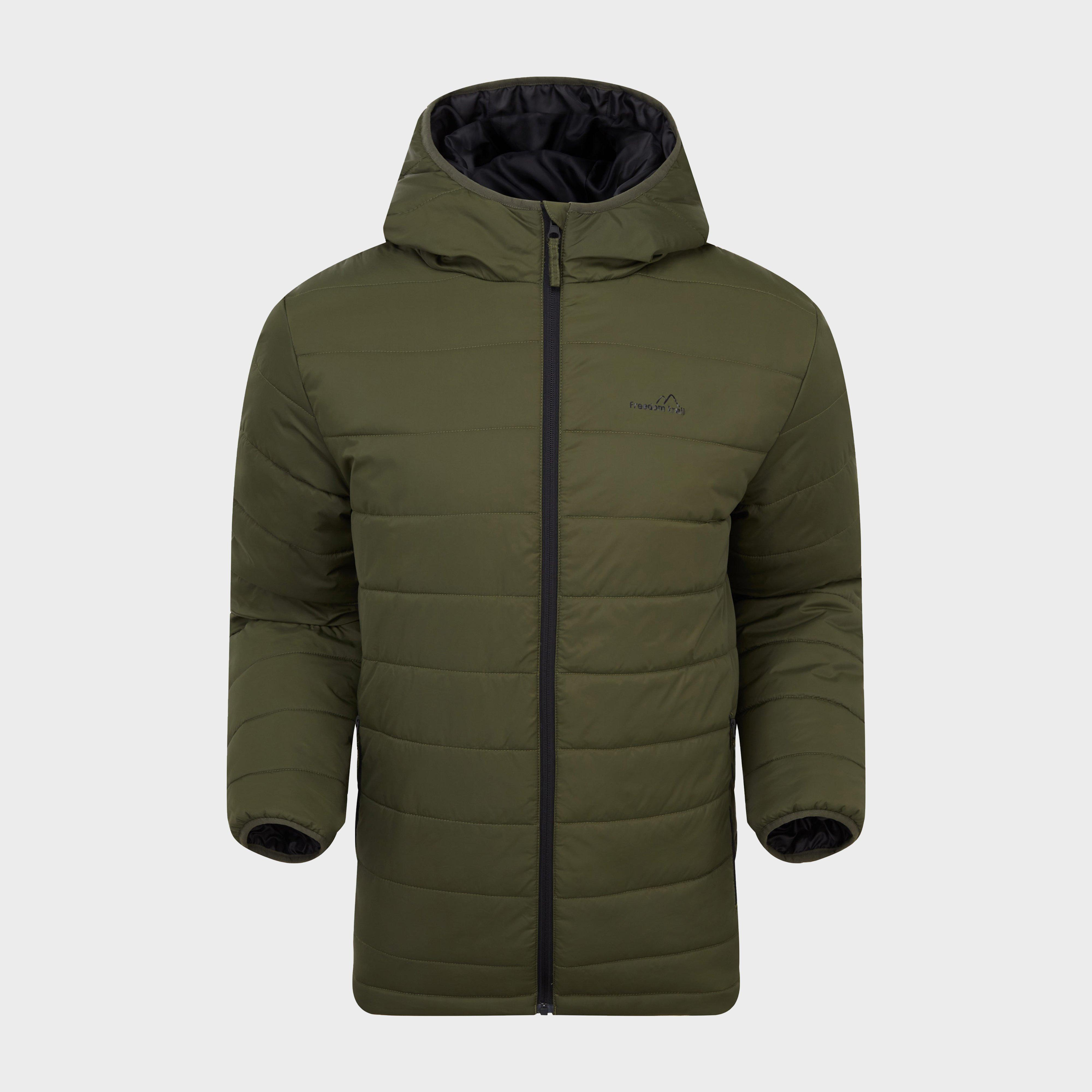 Freedomtrail Freedomtrail Mens Blisco Insulated Jacket, Green