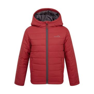 RED FREEDOMTRAIL Kids' Blisco Insulated Jacket