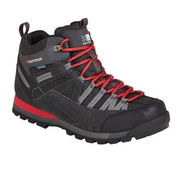 Black Karrimor Men's Spike Mid 3 Walking Boots