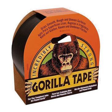 ORANGE Gorilla Tape, Black (48mm x 11m)