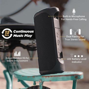 BLACK Scosche BoomBottle® MM Speaker