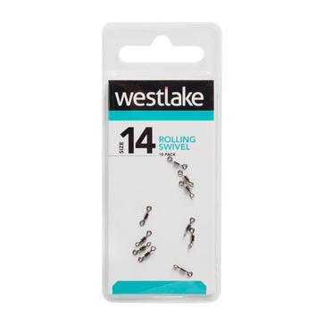 Silver Westlake Rolling Swivel (Size 14)