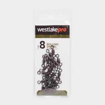 BLACK Westlake ROLLING SWIVEL SIZE 8 20PK