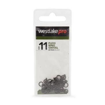 Black Westlake Flexi Ring Swivel Size 11