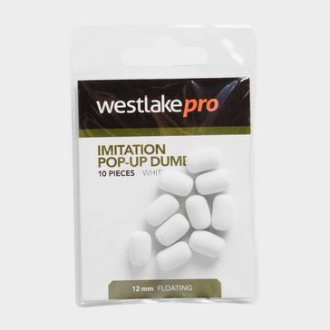 White Westlake Imitation Pop-Up Dumbell (Pack of 10)