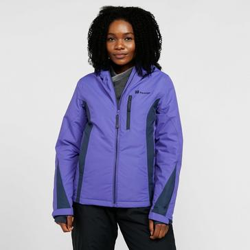 Purple The Edge Women's Nevada Snow Jacket