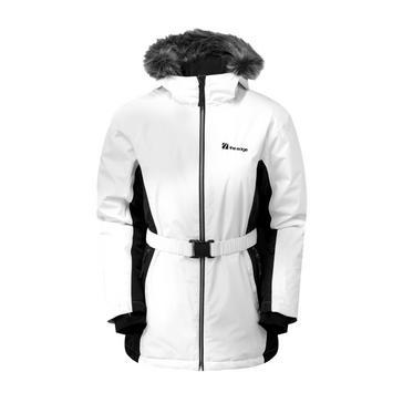 WHITE The Edge Women's Verbier Snow Jacket