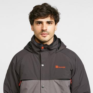 Black The Edge Men's Glacier Ski Jacket