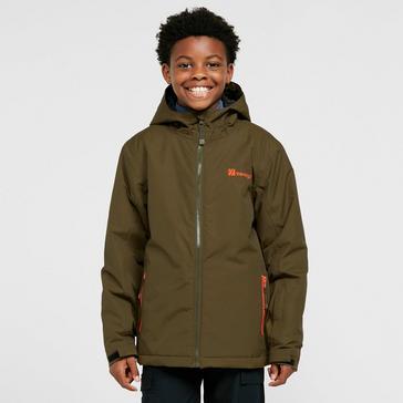 Khaki The Edge Kids' Glissade Snow Jacket
