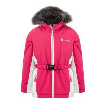 Pink The Edge Kids' Verbier Snow Jacket