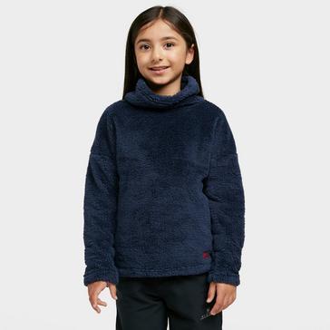 Navy The Edge Kids' Slopestyle Cowl Neck Fleece