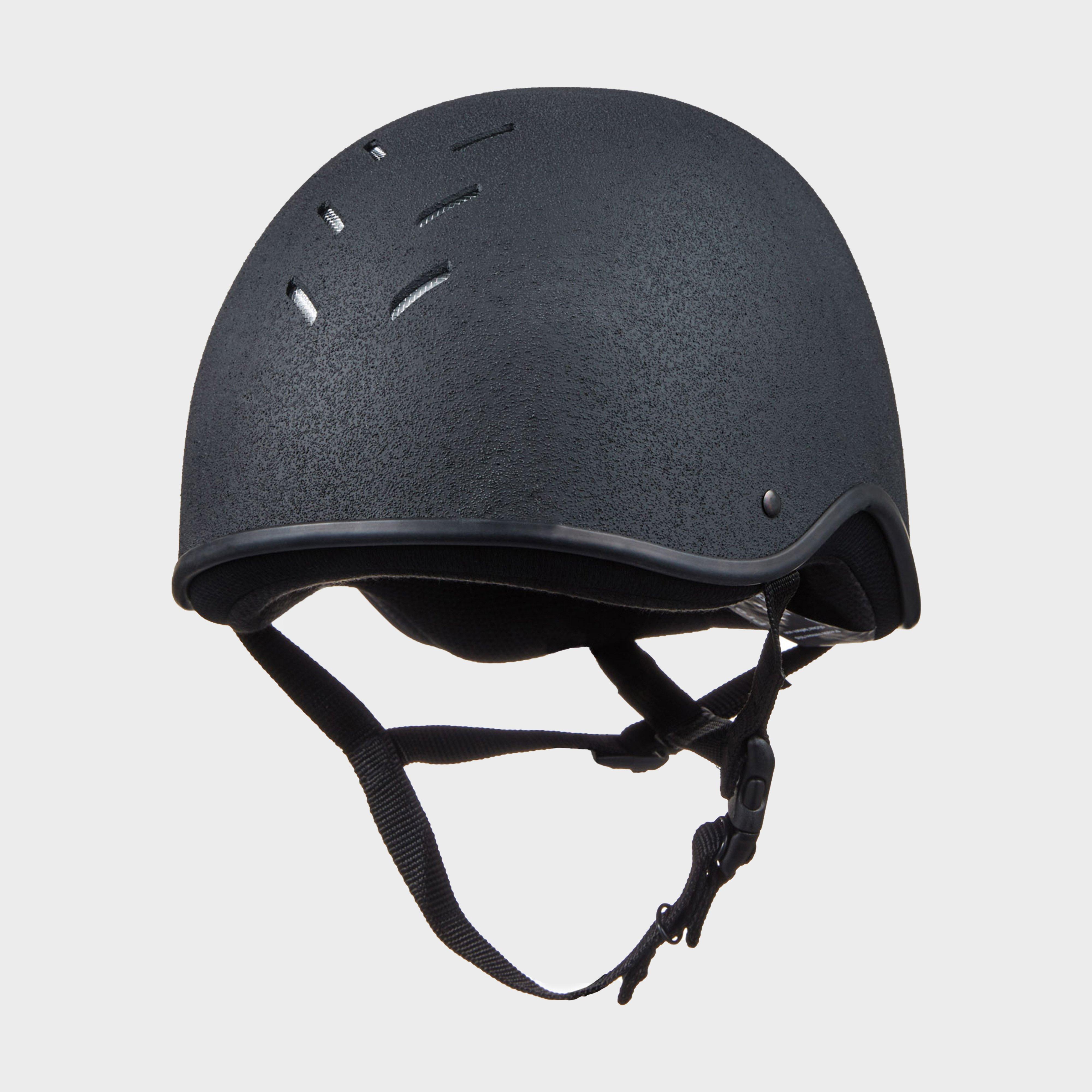 Charles Owen Adult's Js1 Riding Helmet - Black/Black, Black