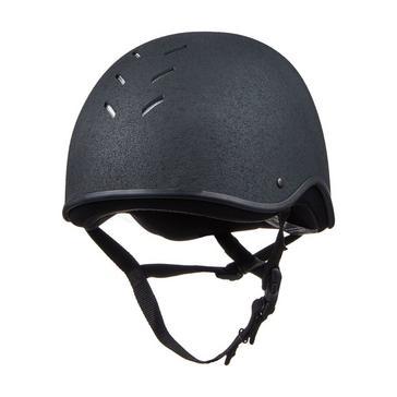 Black Charles Owen Adult's JS1 Riding Helmet