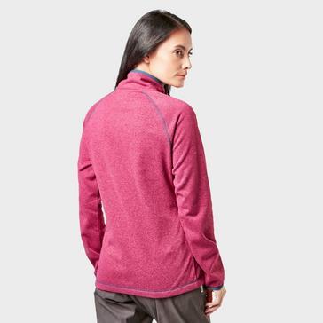 Pink Craghoppers Women's Delacey Half-Zip Fleece