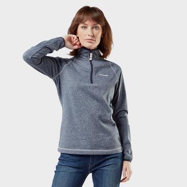 Grey|Grey Craghoppers Women's Delacey Half-Zip Fleece