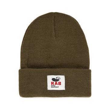 Khaki Rab Essential Beanie Hat