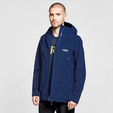 DARK BLUE Rab Men's Kangri GTX Waterproof Jacket