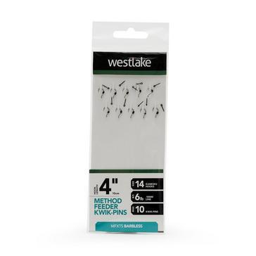 Silver Westlake Method Feeder Extra 4 Pin 14