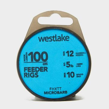 Blue Westlake Microbarb 100cm Feeder Rigs (Size 12)